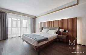 温馨123平现代三居效果图欣赏三居现代简约家装装修案例效果图