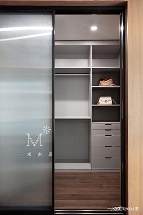 质朴111平现代三居装修装饰图三居现代简约家装装修案例效果图