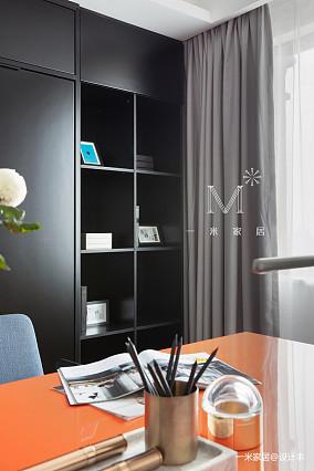 浪漫88平现代三居设计效果图三居现代简约家装装修案例效果图