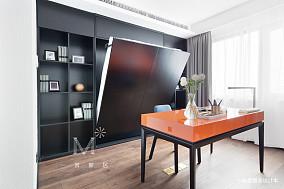 平现代三居装饰图三居现代简约家装装修案例效果图