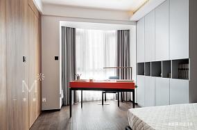 典雅125平现代三居设计美图三居现代简约家装装修案例效果图