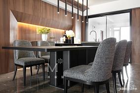 温馨119平现代三居装修图三居现代简约家装装修案例效果图
