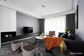 简洁138平现代四居客厅实拍图