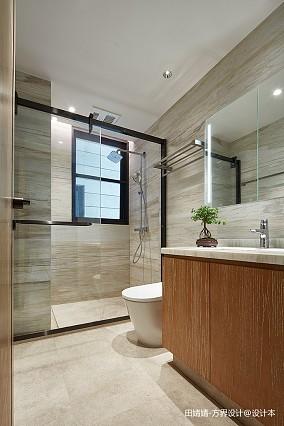 典雅643平中式别墅卫生间图片大全