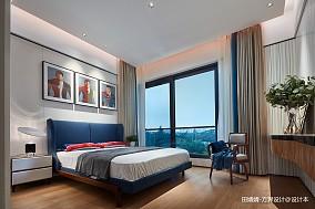 温馨401平中式别墅卧室设计美图