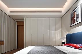 优雅561平中式别墅卧室装修图