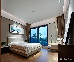 大气955平中式别墅卧室效果图片大全