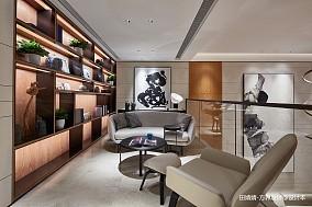 温馨454平中式别墅休闲区装饰美图
