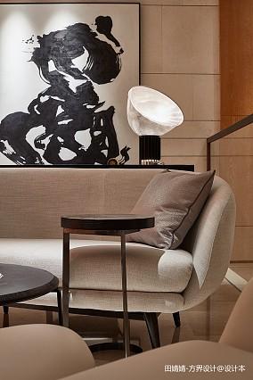 温馨617平中式别墅休闲区设计效果图