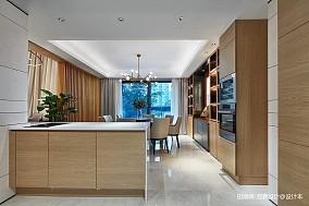 简洁641平中式别墅厨房装饰图片
