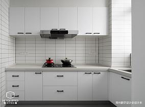质朴115平北欧三居厨房实拍图