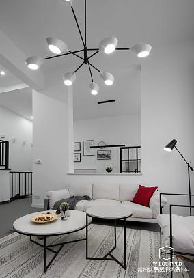 质朴79平北欧三居客厅装修图片
