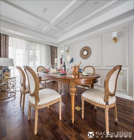 华丽美式餐厅设计图厨房