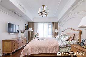华丽美式次卧设计卧室美式经典设计图片赏析