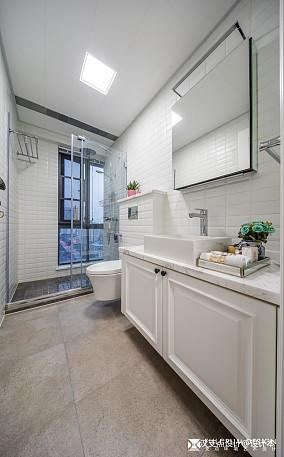 华丽美式卫浴设计餐厅美式经典设计图片赏析