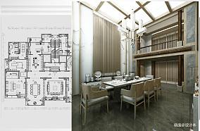悠雅539平日式别墅餐厅图片欣赏