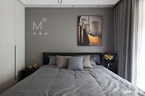 优美100平现代三居卧室装修设计图三居现代简约家装装修案例效果图