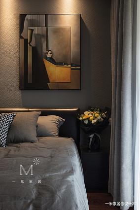 浪漫108平现代三居装修图家装装修案例效果图