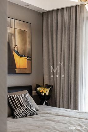 温馨77平现代三居设计效果图家装装修案例效果图