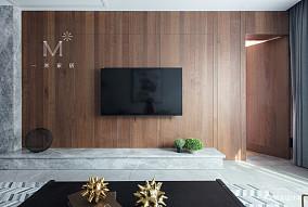 精致117平现代三居图片欣赏三居现代简约家装装修案例效果图
