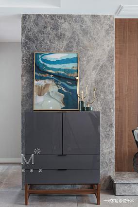 明亮86平现代三居实拍图三居现代简约家装装修案例效果图