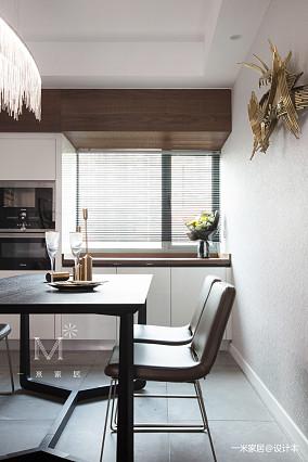 浪漫107平现代三居装修设计图三居现代简约家装装修案例效果图