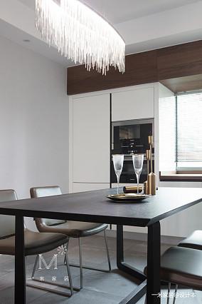 质朴87平现代三居装修装饰图家装装修案例效果图