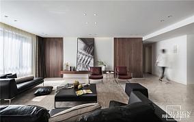 明亮78平现代三居客厅效果图欣赏