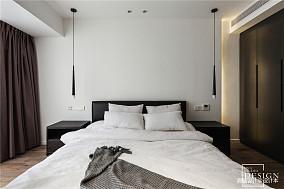 轻奢78平现代三居卧室图片欣赏