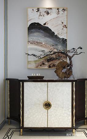 大气108平现代三居玄关设计案例三居现代简约家装装修案例效果图