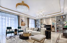 优美104平现代三居客厅效果图欣赏三居现代简约家装装修案例效果图