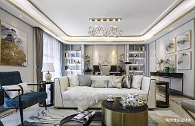 优美226平现代三居客厅图片欣赏三居现代简约家装装修案例效果图