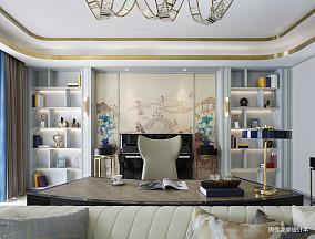 温馨94平现代三居客厅美图三居现代简约家装装修案例效果图