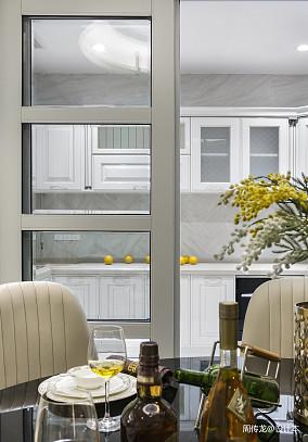 平现代三居餐厅实拍图三居现代简约家装装修案例效果图