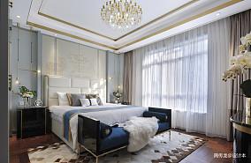 精致107平现代三居卧室实景图片三居现代简约家装装修案例效果图