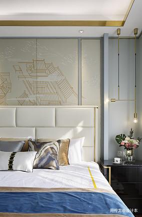 大气75平现代三居卧室图片大全三居现代简约家装装修案例效果图