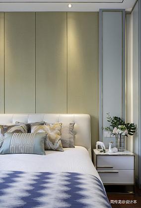 平现代三居卧室设计图三居现代简约家装装修案例效果图