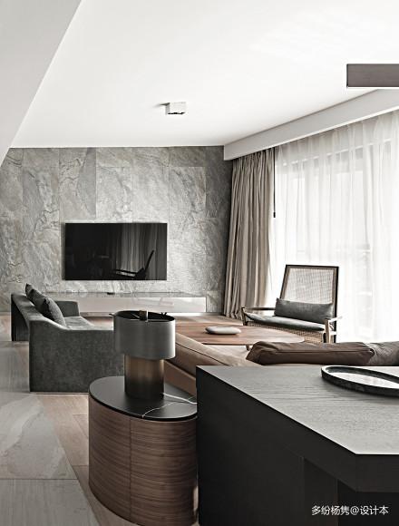 华丽93平简约三居客厅装修效果图