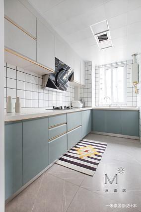 轻奢58平现代二居厨房效果图