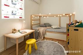 质朴50平日式复式儿童房装修效果图