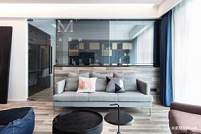 轻奢71平简约二居设计美图二居现代简约家装装修案例效果图