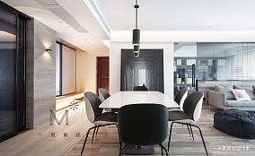 质朴87平简约二居效果图欣赏二居现代简约家装装修案例效果图