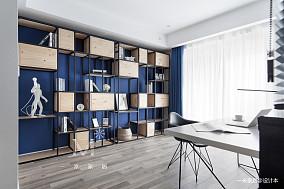 大气87平简约二居装修图二居现代简约家装装修案例效果图