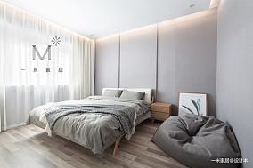 温馨83平简约二居装修装饰图二居现代简约家装装修案例效果图
