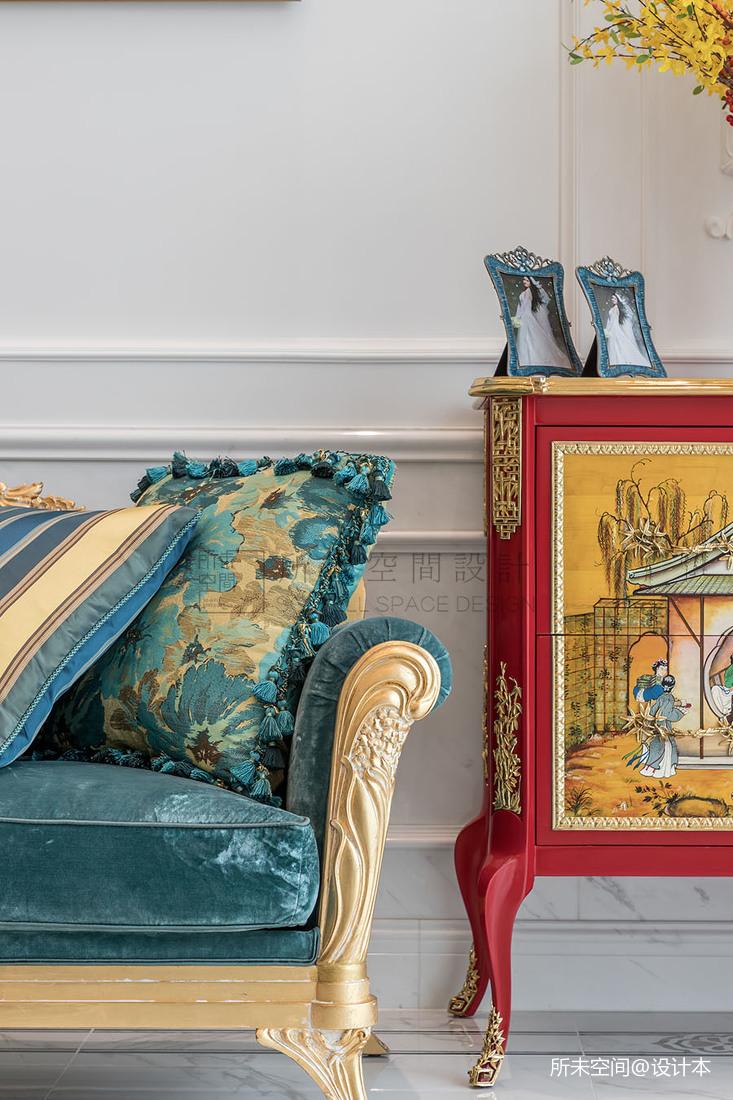 温馨529平法式别墅客厅实景图片客厅欧式豪华客厅设计图片赏析