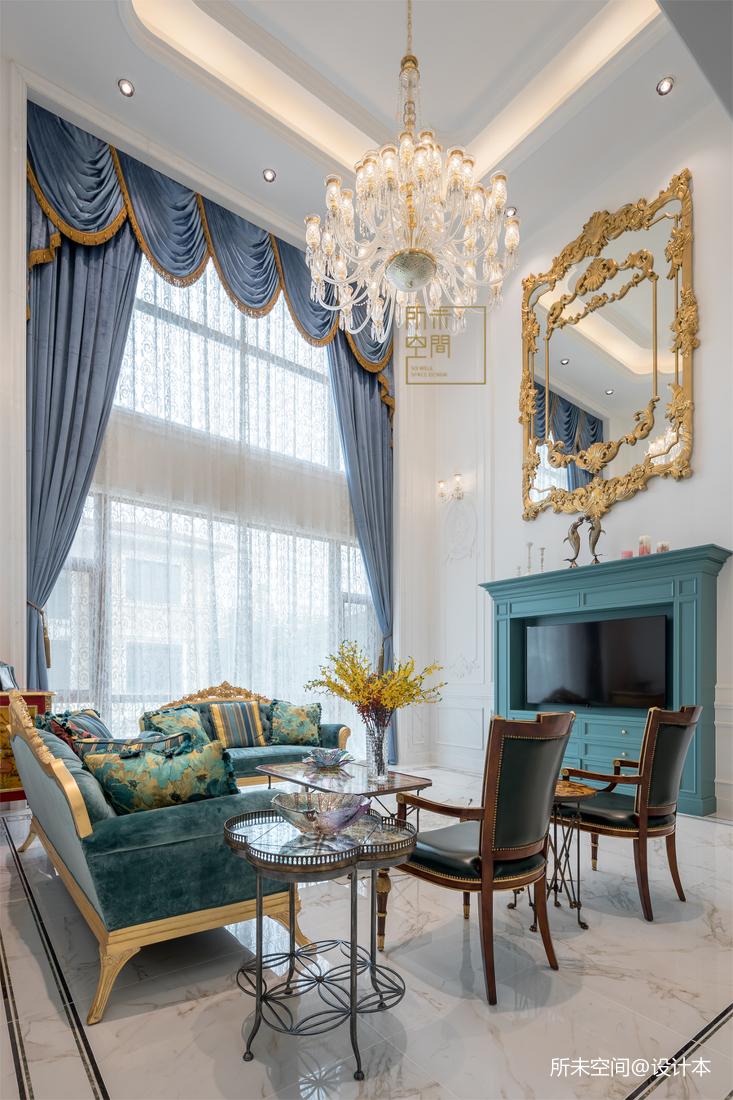 优美860平法式别墅客厅效果图客厅欧式豪华客厅设计图片赏析