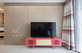 典雅24平现代小户型装修案例一居现代简约家装装修案例效果图