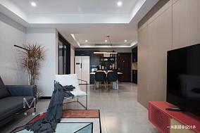 华丽23平现代小户型装修图片一居现代简约家装装修案例效果图