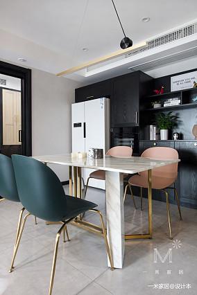 质朴21平现代小户型餐厅案例图