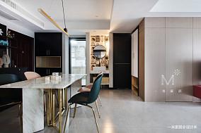简洁23平现代小户型效果图欣赏一居现代简约家装装修案例效果图
